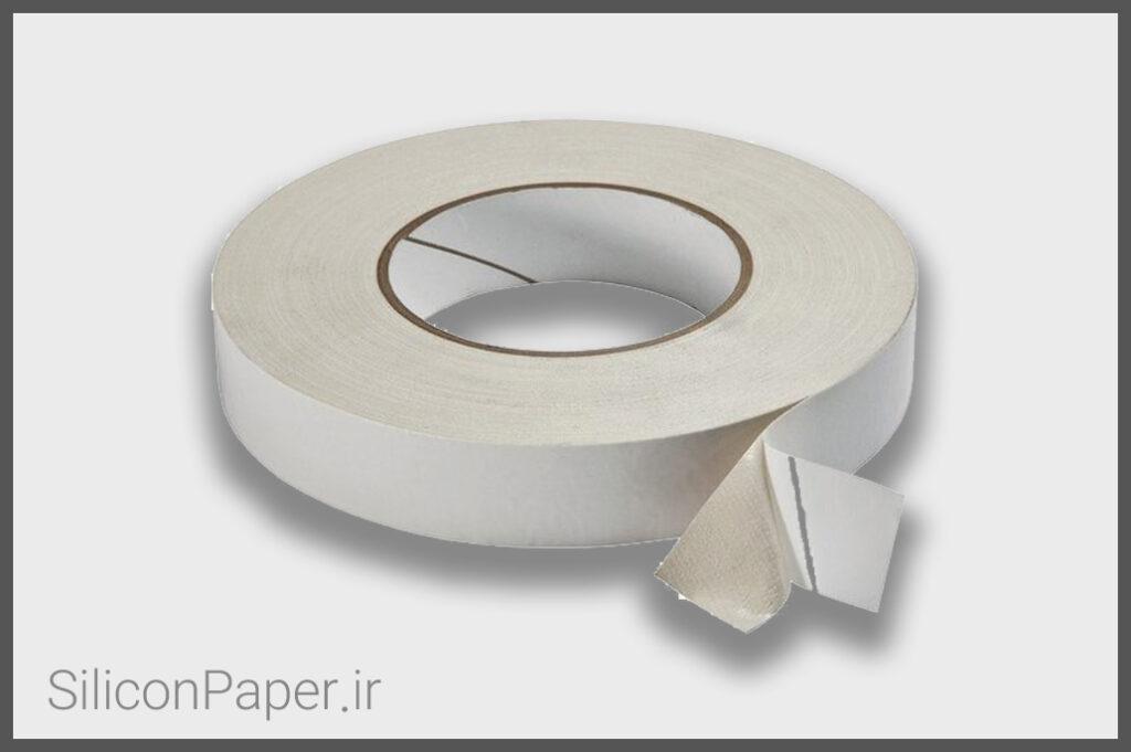 کاغذ سیلیکونی نچسب دو رو
